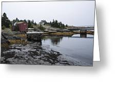 Blue Rocks Nova Scotia 8 Greeting Card by John Burnett