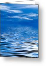 Blue Sky Greeting Card by Kati Molin