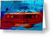 Bmw Jagermeister Greeting Card by Naxart Studio