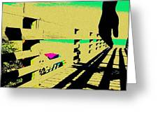 Boardwalk Greeting Card by YoMamaBird Rhonda