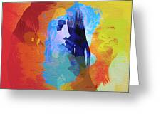 Bob Marley 4 Greeting Card by Naxart Studio
