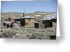 Bodie Cabins 2 Greeting Card by Philip Tolok