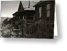 Bodie Cabins 3 Greeting Card by Philip Tolok