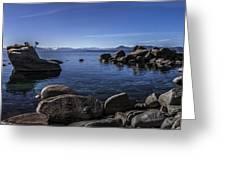 Bonsai Rock Lake Tahoe Greeting Card by Brad Scott