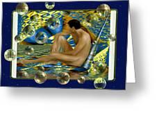 Book Of Dreams Greeting Card by Kurt Van Wagner