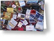 Bordello Paraphernalia 2 - Wallace Idaho Greeting Card by Daniel Hagerman