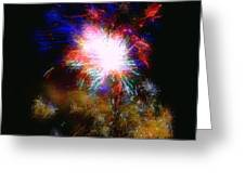 Born on the 4th of July Greeting Card by Dale   Ford