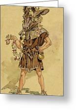 Bottom - A Midsummer Night's Dream Greeting Card by C Wilhelm