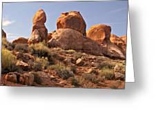 Boulder Landscape Greeting Card by Marty Koch