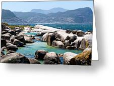 Boulders Beach Greeting Card by Fabrizio Troiani