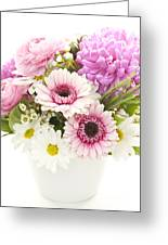 Bouquet Of Flowers Greeting Card by Elena Elisseeva