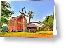 Bowen Plantation House 003 Greeting Card by Barry Jones