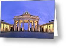 Brandenburger Tor Berlin Greeting Card by Greta Schmidt