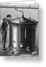 Brewery Vat, 19th Century Greeting Card by Cci Archives