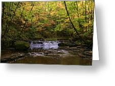 Bridal Veil Falls 2 Greeting Card by Rick Buzalewski