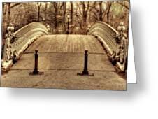 Bridge Greeting Card by Ariane Moshayedi