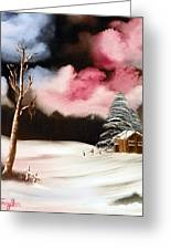 Bright Night Greeting Card by Amity Traylor