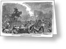 Bristol: Reform Riot, 1831 Greeting Card by Granger