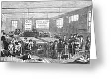British Ragged School Greeting Card by Granger