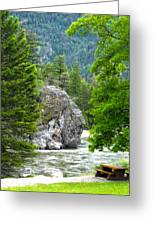 Bromley Rock Greeting Card by Infinitimage Canada