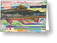 Brook Trout 1 Greeting Card by Michelle Grove