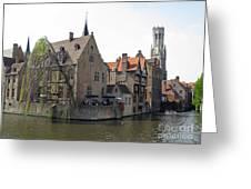 Brugge. Belgium. Spring 2011 Greeting Card by Ausra Paulauskaite