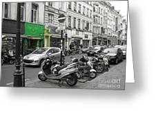 Bruxelles Street Greeting Card by Yury Bashkin