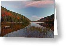Bubble Pond At Autumn Glory Greeting Card by Juergen Roth