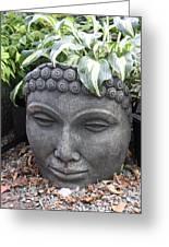Buddha On A Hot Summer Island Day Greeting Card by Brian Sereda