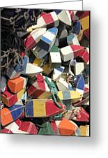Buoys Greeting Card by Kevin Brant