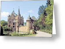 Burg Satzvey Germany Greeting Card by Joseph Hendrix