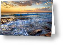 Burns Beach Wa Greeting Card by Imagevixen Photography