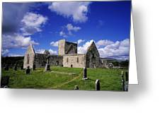 Burrishoole Friary, Co Mayo, Ireland Greeting Card by The Irish Image Collection