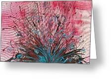 Bursting Boquet Greeting Card by Robert Anderson