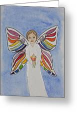 Butterfly People Sympathy Greeting Card by DJ Bates
