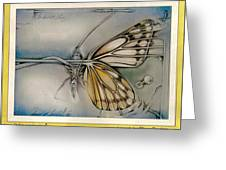 Butterflycomp 1991 B Greeting Card by Glenn Bautista