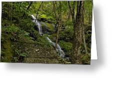 Buttermilk Falls - Tillmans Ravine Greeting Card by Stephen  Vecchiotti