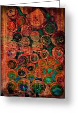 Buttons Greeting Card by Ann Powell