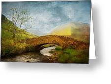 By The River Greeting Card by Svetlana Sewell