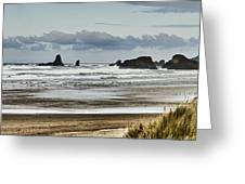By The Sea - Seaside Oregon State  Greeting Card by James Heckt