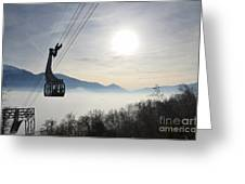 Cabelcar Greeting Card by Mats Silvan