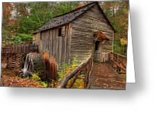 Cable Mill Greeting Card by Charles Warren