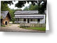Cable Mill Home Place Cades Cove Greeting Card by Mike Aldridge