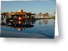 Cabo Reflection Greeting Card by David Taylor