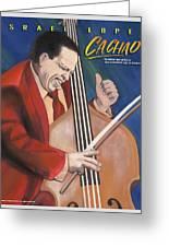 Cachao  Greeting Card by John Crespo Estrella