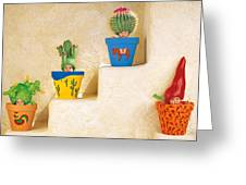 Cactus Pots Greeting Card by Anne Geddes