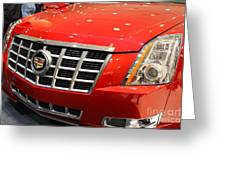 Cadillac . 7d9561 Greeting Card by Wingsdomain Art and Photography