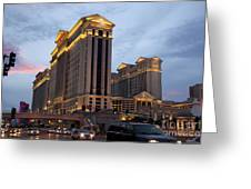 Caesars Palace  Greeting Card by Jane Rix