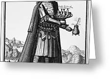 CAFE OWNER, c1690 Greeting Card by Granger