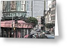Cafe Zoetrope  Greeting Card by Artist and Photographer Laura Wrede